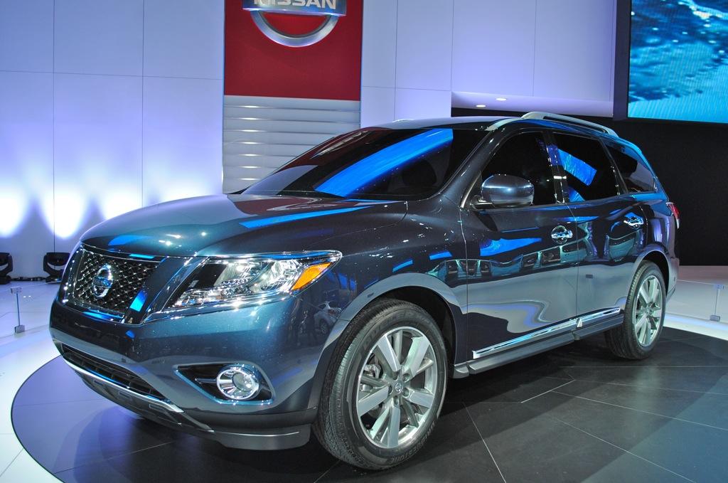2012 Detroit: Nissan Pathfinder Concept
