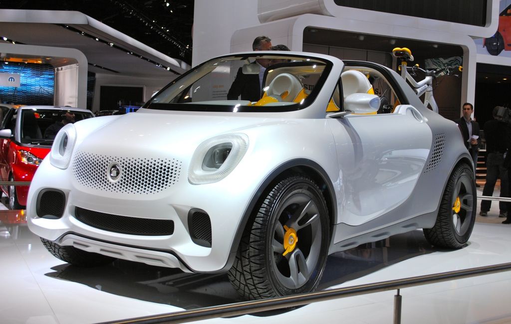 2012 Detroit: Smart For-Us Concept