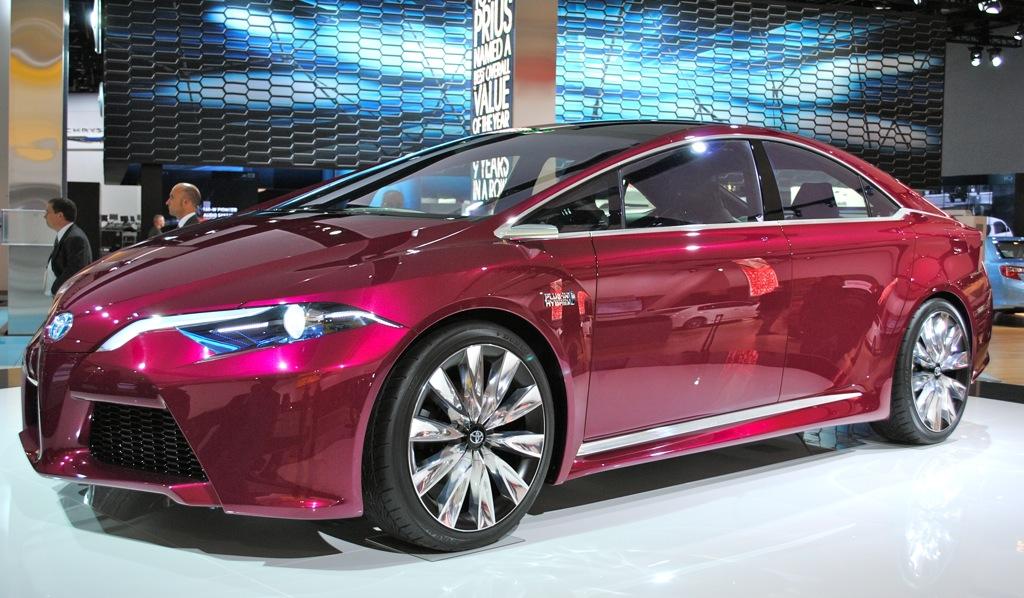 2012 Detroit: Toyota NS4 Concept