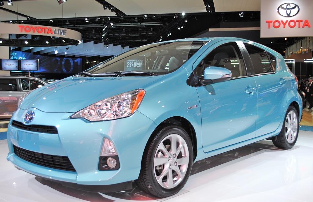 2012 Detroit: Toyota Prius C