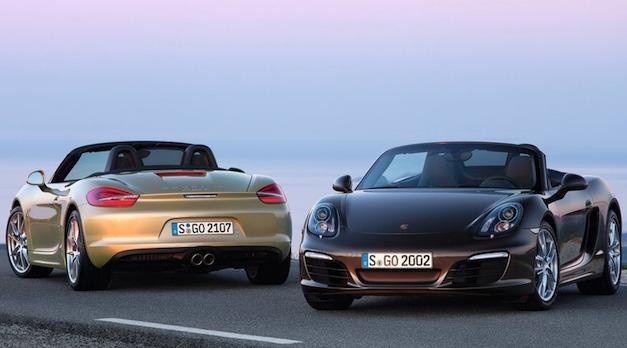 2013 Porsche Boxster and Boxster S