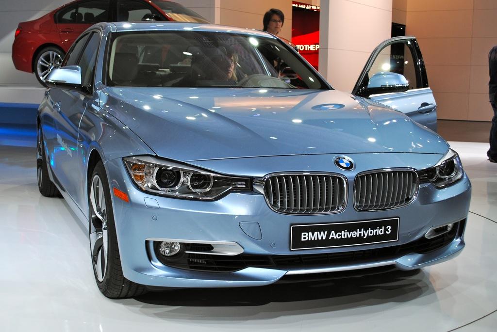 2012 Detroit: 2012 BMW ActiveHybrid 3