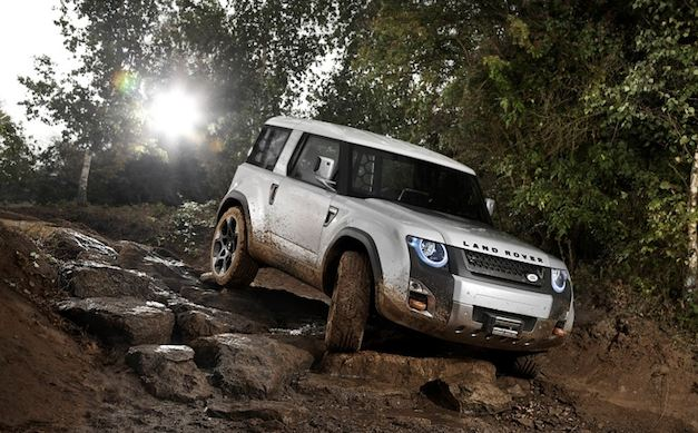 Land Rover Defender 90 Concept