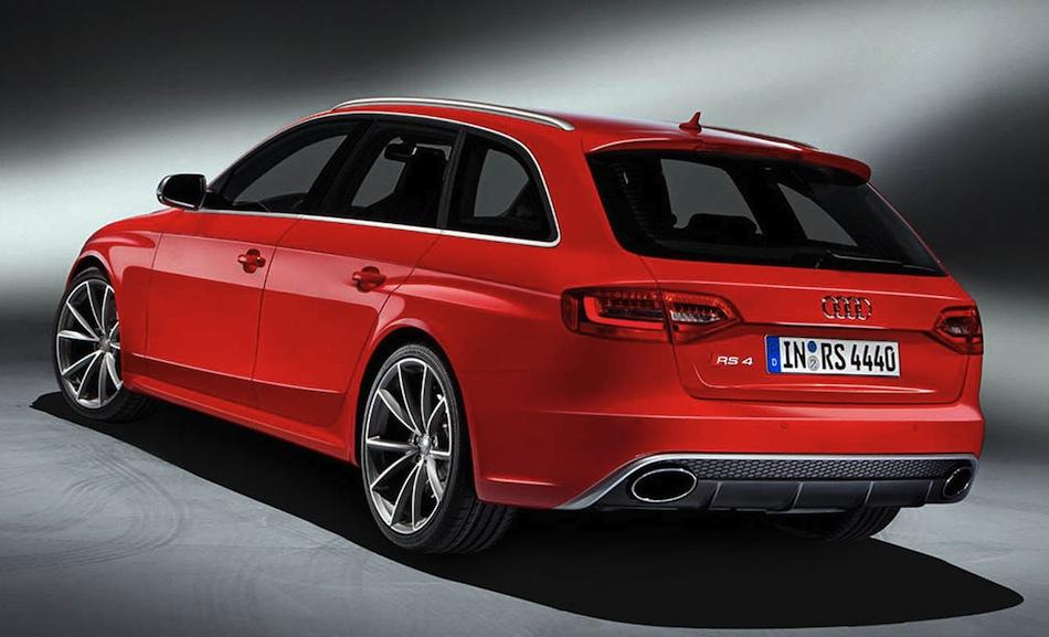 2012 Audi RS4 Avant Leak