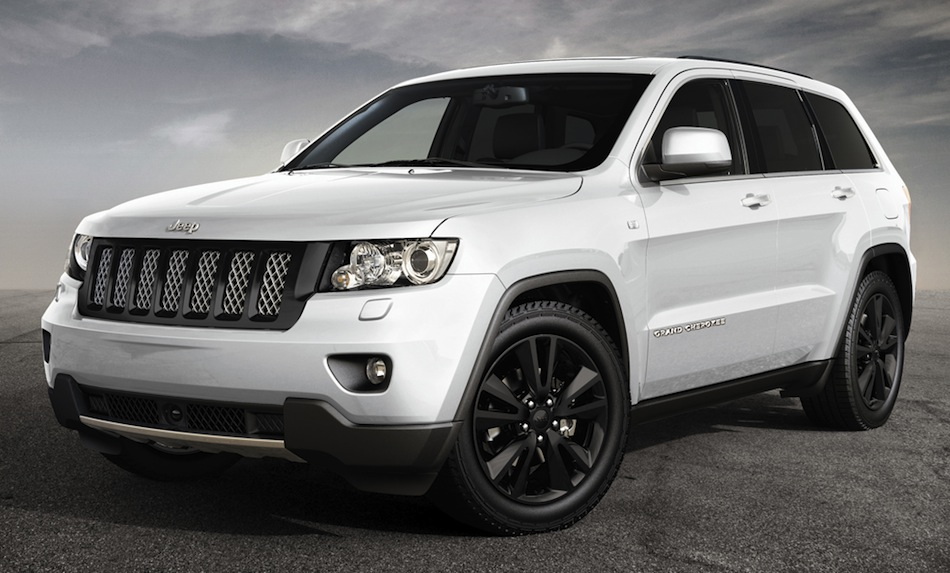 2012 Geneva Motor Show Jeep Grand Cherokee Concept