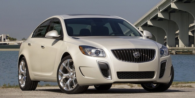 2013 Buick Regal GS front