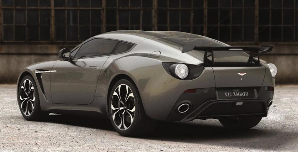 Aston Martin V12 Zagato Leak