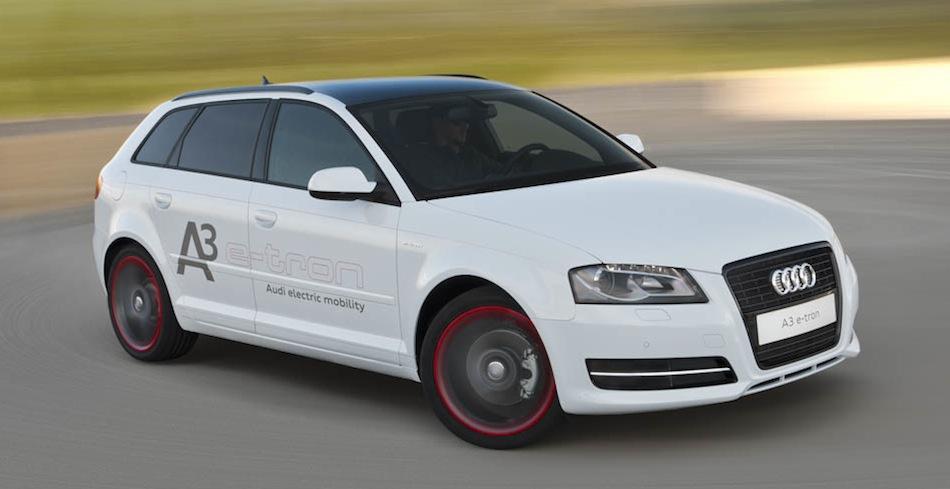 Audi A3 e-tron Pilot