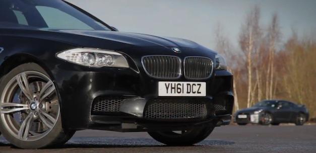 2012 BMW M5 vs 2013 Nissan GT-R