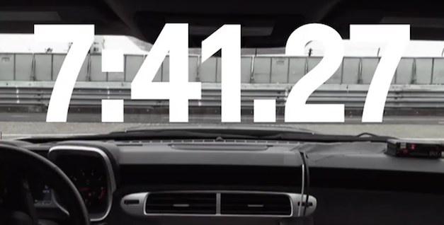 Chevrolet Camaro ZL1 Nurburgring Lap Time