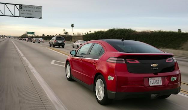 Chevrolet Volt Carpool Lanes