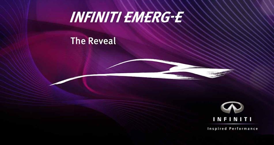 Infiniti EMERG-E Concept
