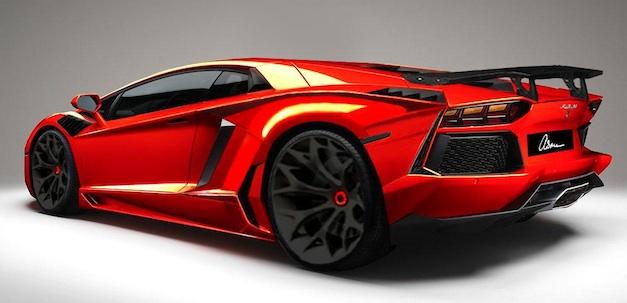 Asthma Design Lamborghini Aventador