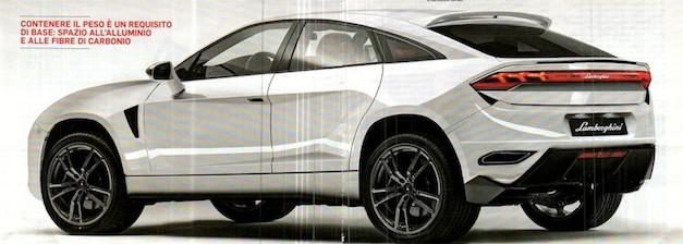 Lamborghini SUV Rear