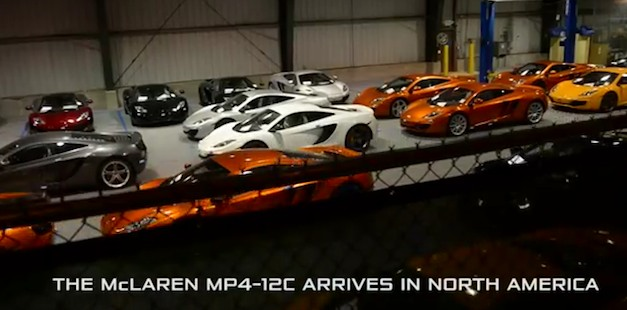 McLaren MP4-12C arrives in the United States