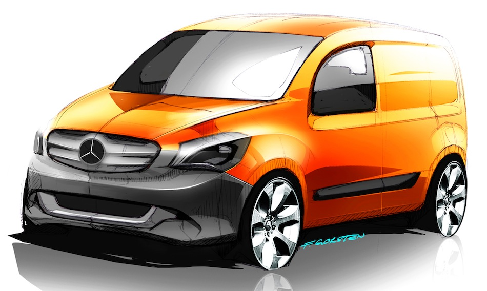 Mercedes-Benz Citan (Sketches)