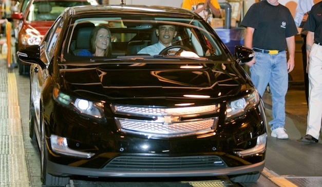 Obama Chevrolet Volt