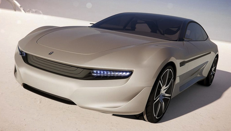 Pininfarina Cambiano Leaked Images
