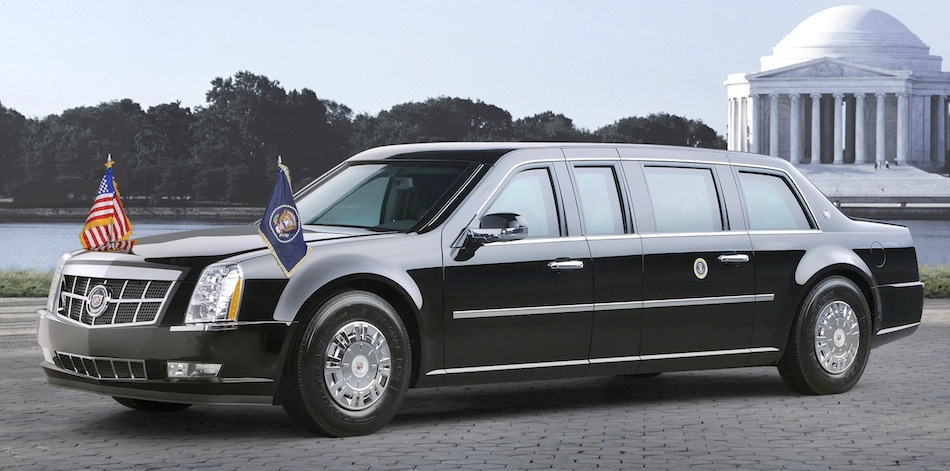 2009 Cadillac Presidential Limousine for Obama