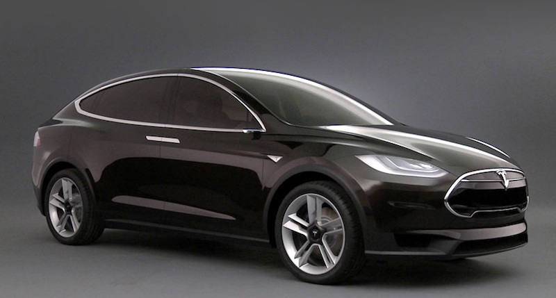 Tesla Model X Prototype