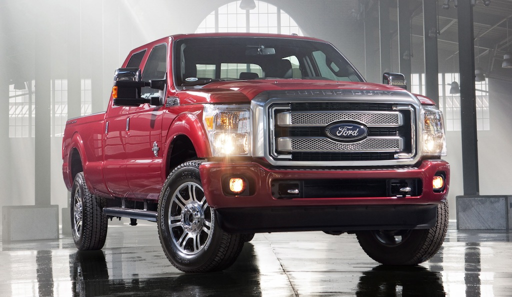 2013 Ford Super Duty Platinum Series