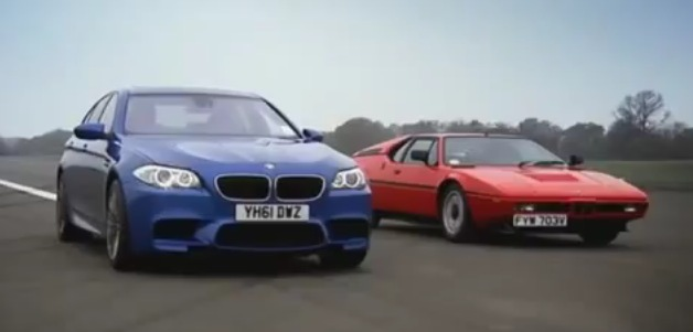 2012 BMW M5 Top Gear
