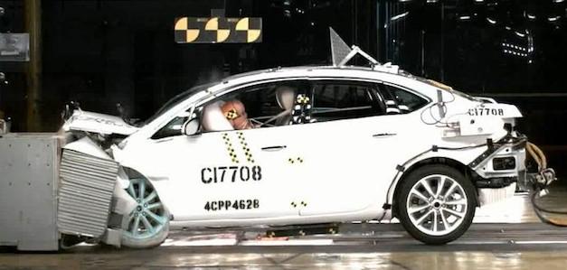 2012 Buick Verano Crash Test