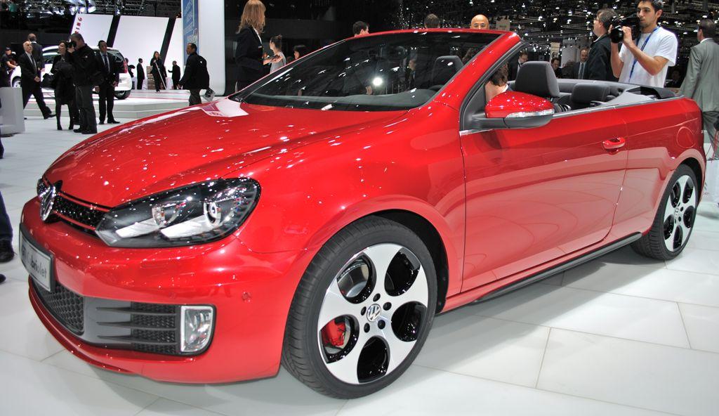 2012 Geneva: Volkswagen Golf Cabriolet GTI