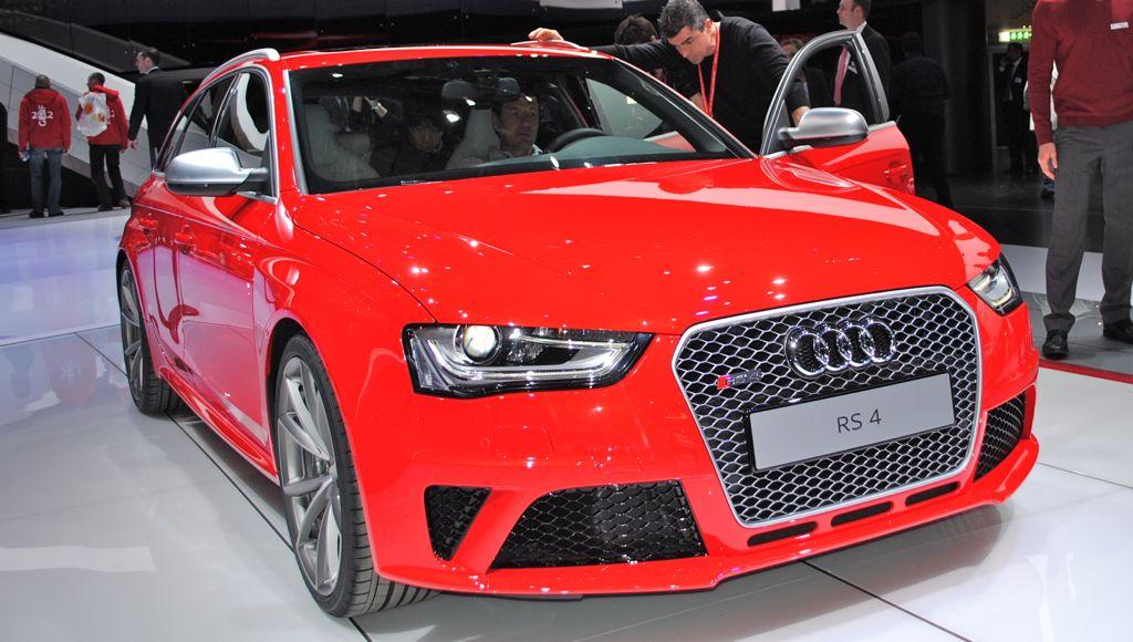 2012 Geneva: 2012 Audi RS4 Avant