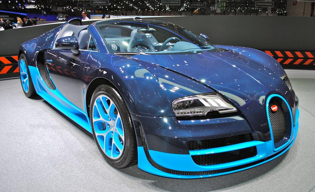 2012 Geneva Bugatti Veyron Grand Sport Vitesse