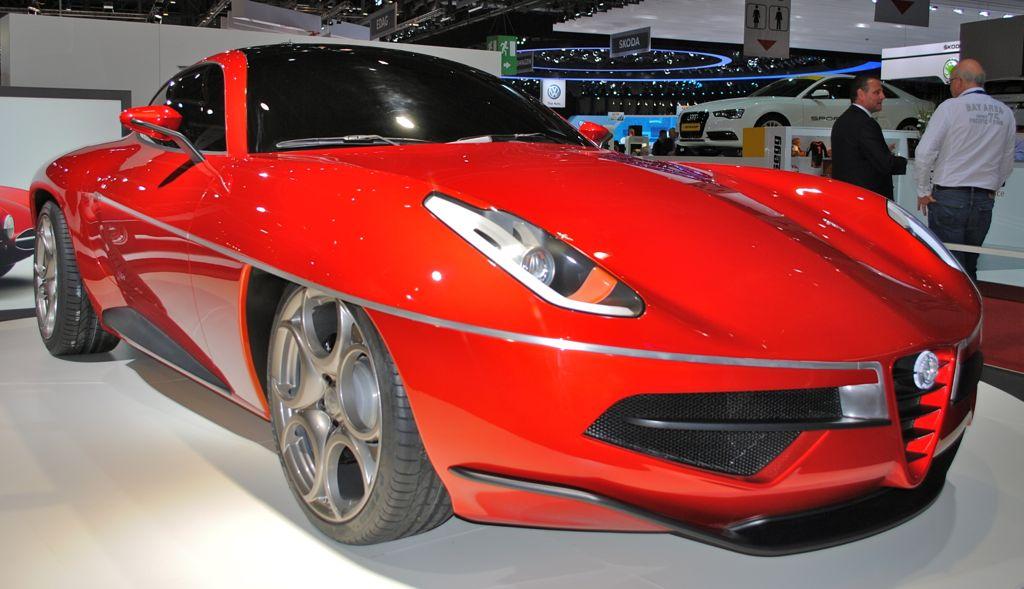 2012 Geneva: 2012 Disco Volante Concept