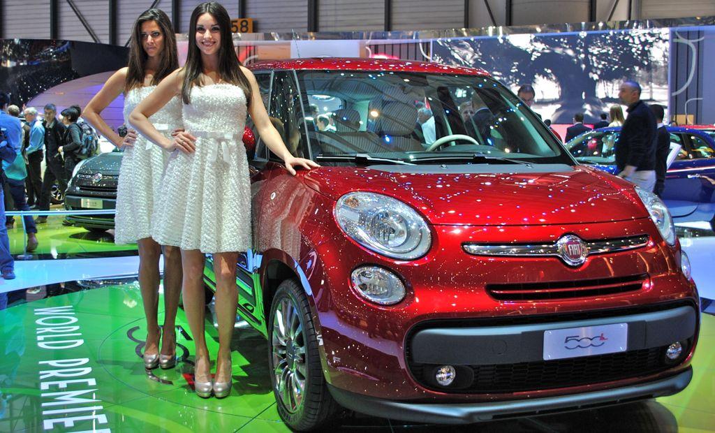 2012 Geneva: Fiat 500L
