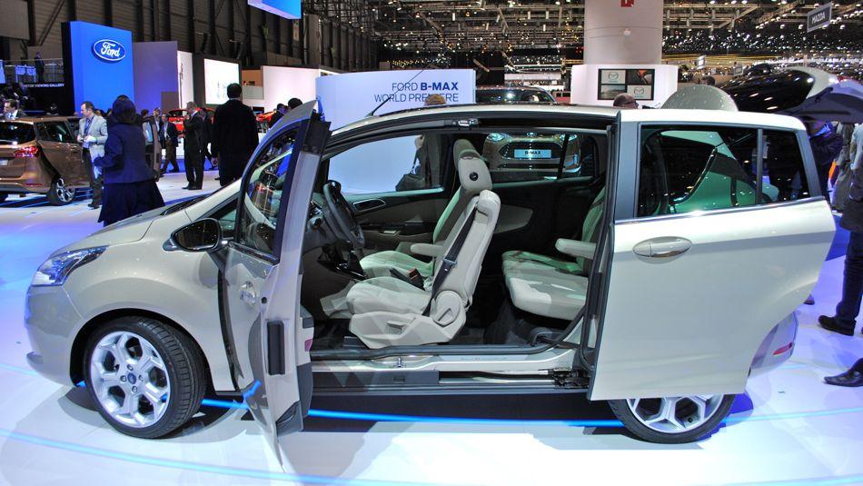 2012 Geneva: 2013 Ford B-MAX