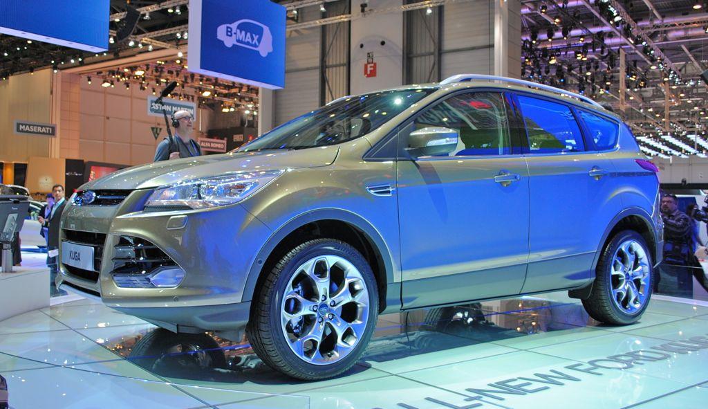 2012 Geneva: 2013 Ford Kuga