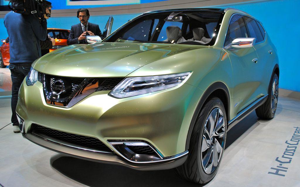 2012 Geneva: Nissan Hi-Cross Concept