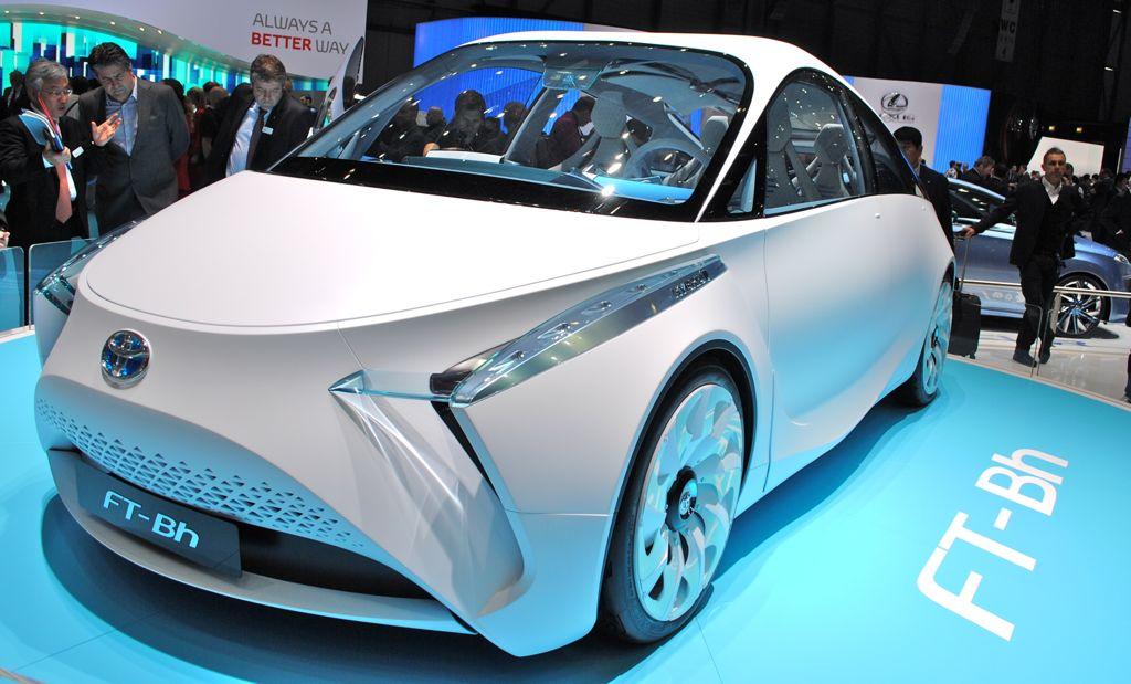 2012 Geneva: Toyota FT-Bh Concept