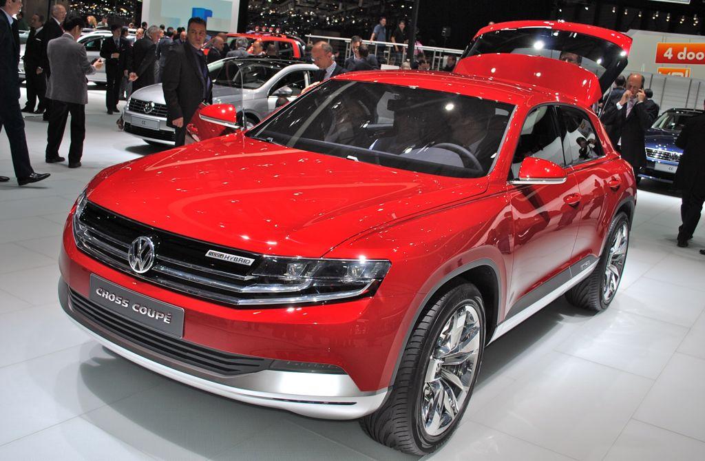2012 Geneva: Volkswagen Cross Coupe Concept