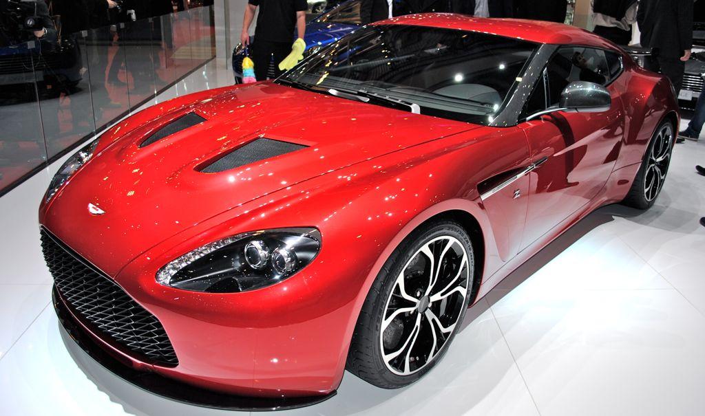 2012 Geneva: Aston Martin V12 Zagato