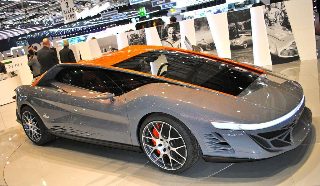 2012 Geneva: Bertone Nuccio Concept