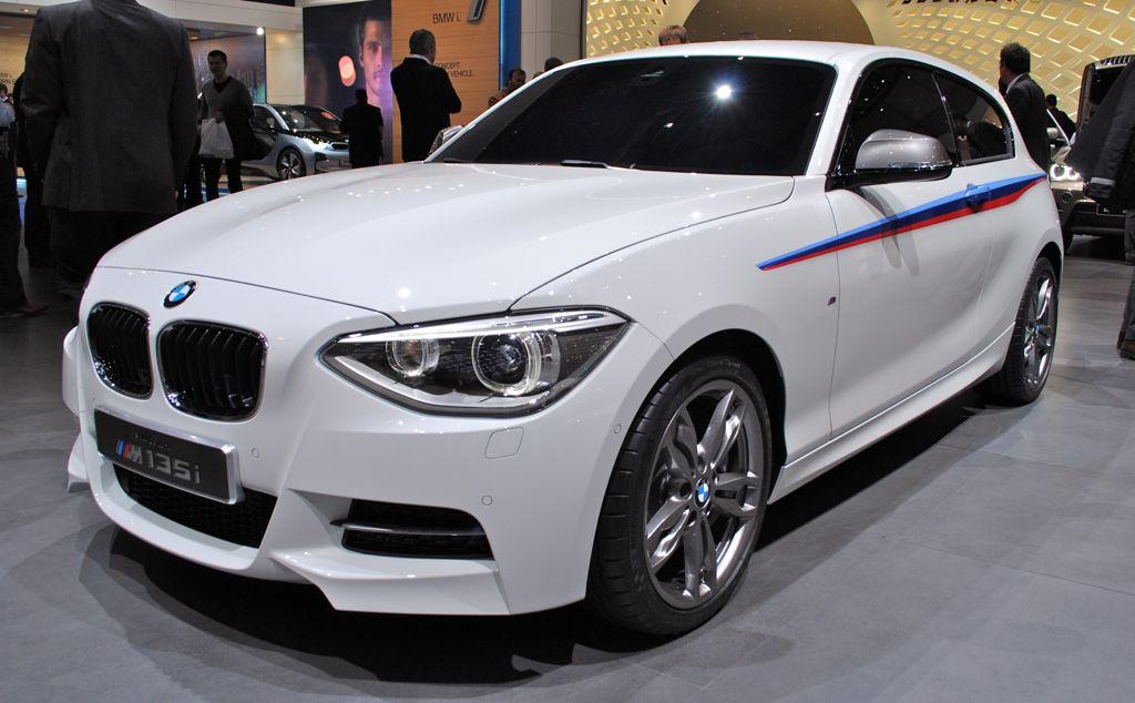 2012 Geneva: BMW M135i Concept