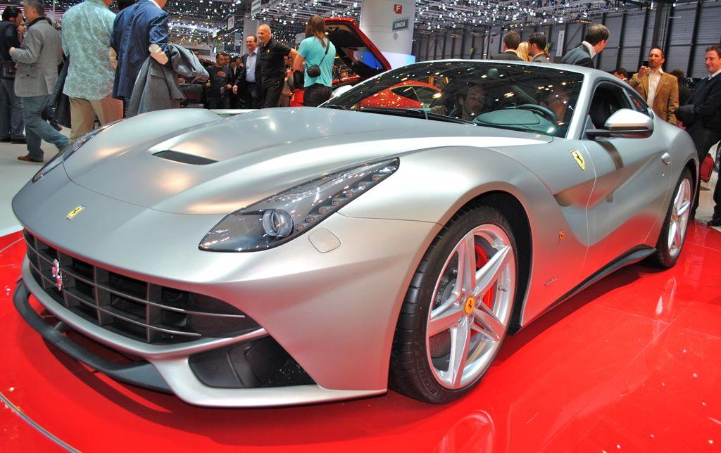 2012 Geneva: 2013 Ferrari F12 Berlinetta