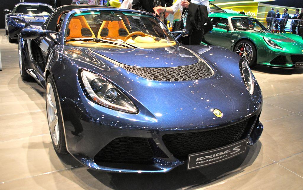 2012 Geneva: Lotus Exige S Roadster