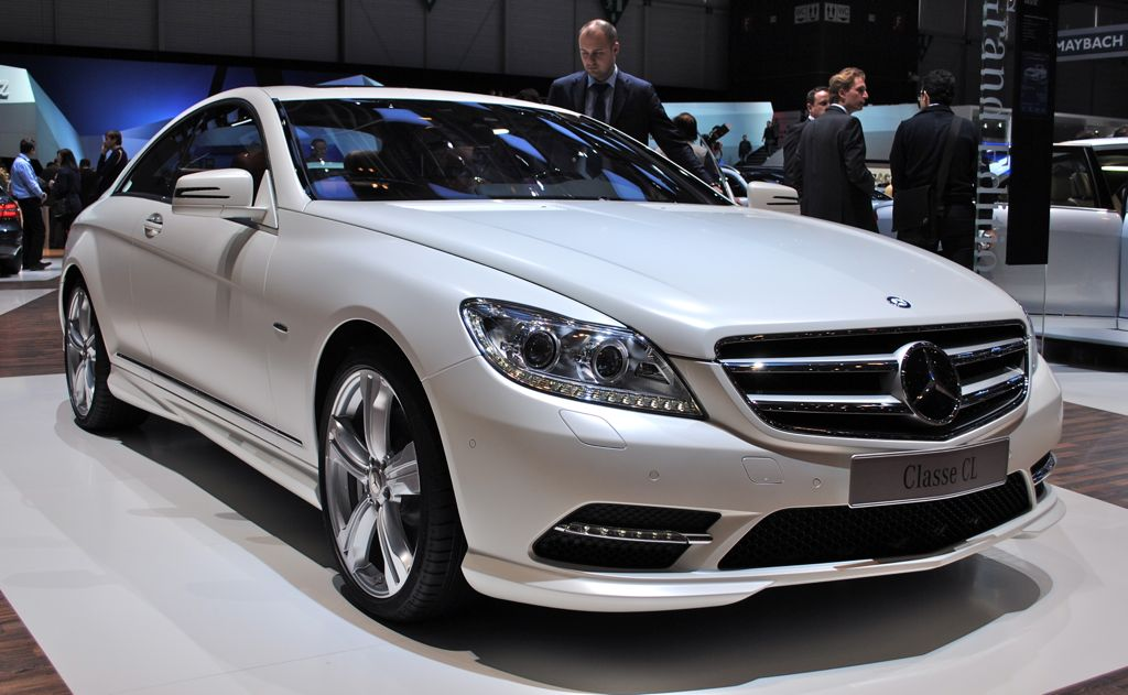 2012 Geneva: 2012 Mercedes-Benz CL Grand Edition