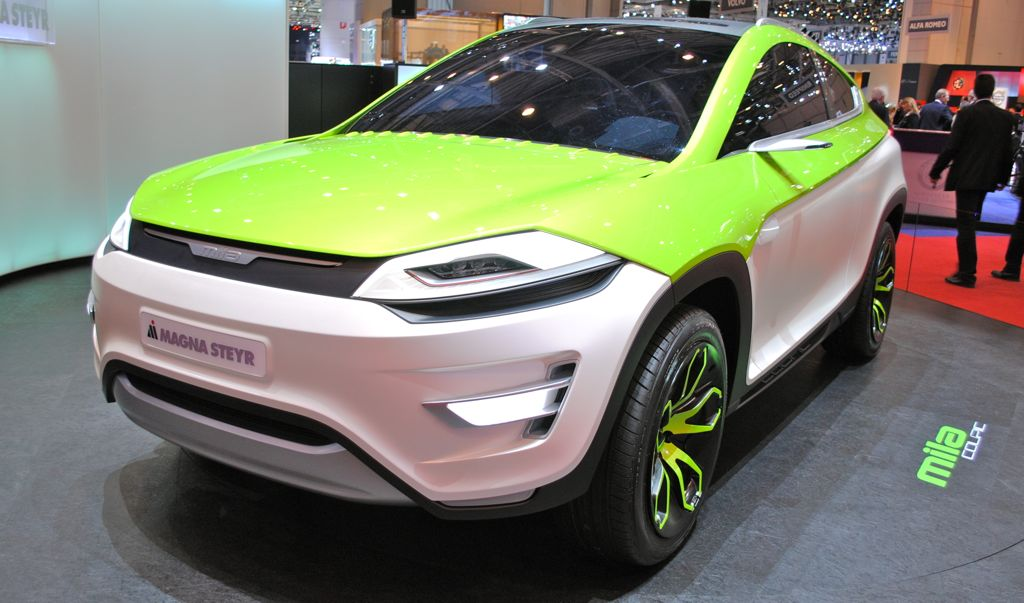 2012 Geneva: Magna Steyr MILA Coupic