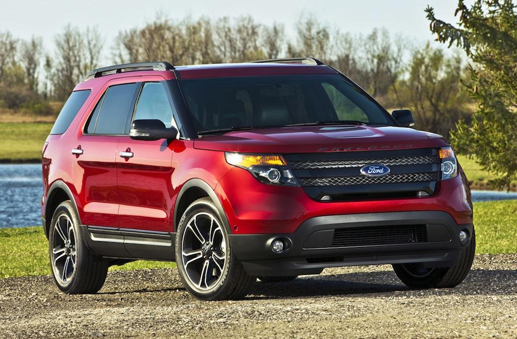 2013 Ford Explorer Sport Red