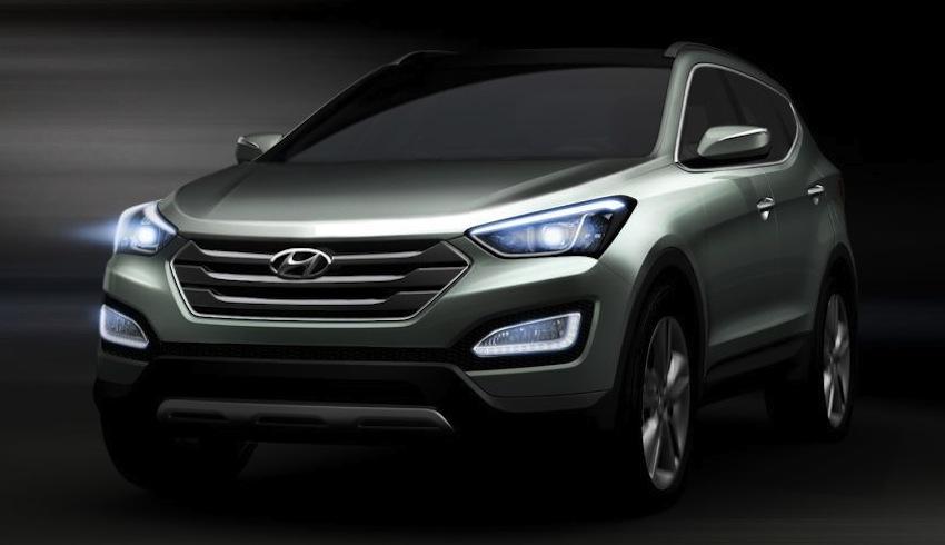 2013 Hyundai Santa Fe Teaser