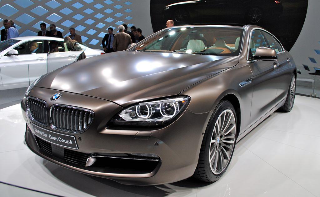 2011 Geneva: 2013 BMW 6-Series Gran Coupe