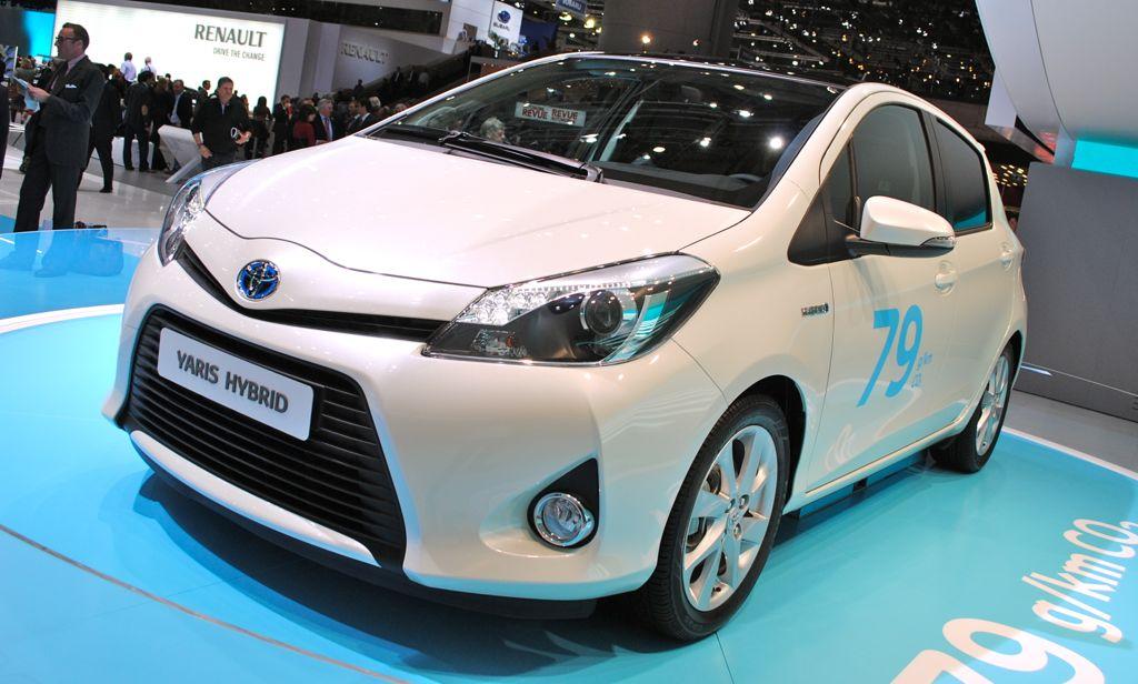 2012 Geneva: Toyota Yaris Hybrid