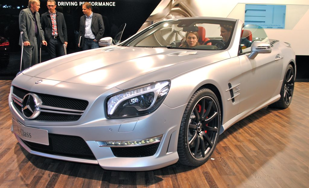 2012 Geneva: 2013 Mercedes-Benz SL63 AMG