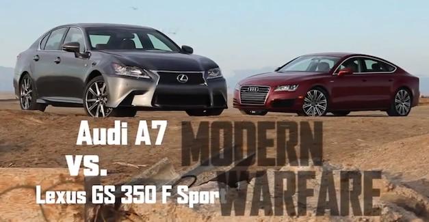 Audi A7 vs. Lexus GS
